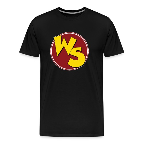 wsvectorlogoshirt220mm - Men's Premium T-Shirt