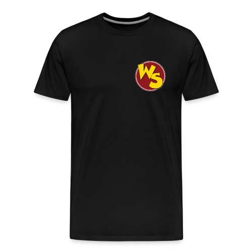 wsvectorlogoshirt90mm - Men's Premium T-Shirt