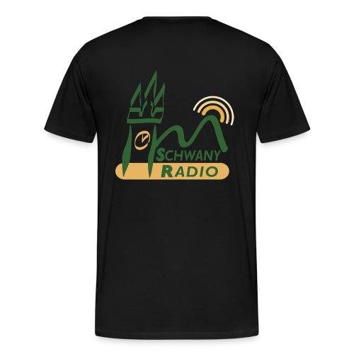 Schwany Logo 20 cm 300dpi trans png - Männer Premium T-Shirt