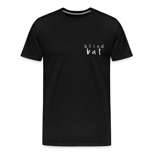 Blind Bat Words - Men's Premium T-Shirt