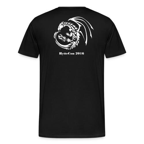 HytteCon2016 - Premium T-skjorte for menn