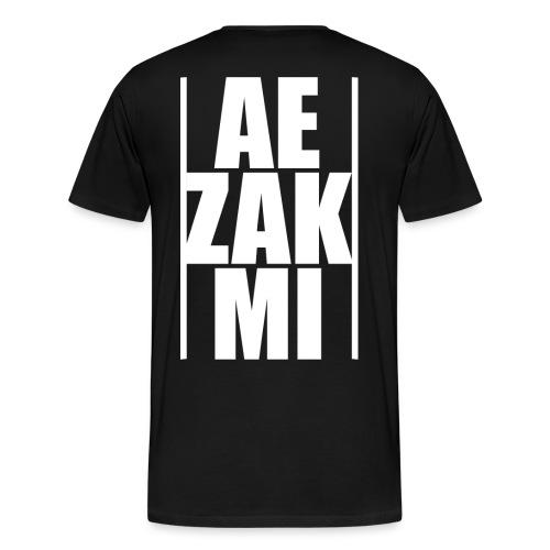 AEZAKMI-white, back - Koszulka męska Premium