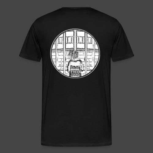 SUPPORT FREETEKNO - MAR - T-shirt Premium Homme