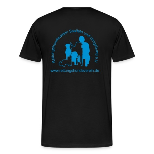 logovectorblack - Männer Premium T-Shirt