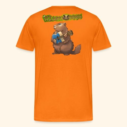 Tshirt Guitare - T-shirt Premium Homme