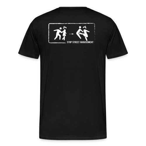 Stop street harassment: We don't touch! - Men's Premium T-Shirt