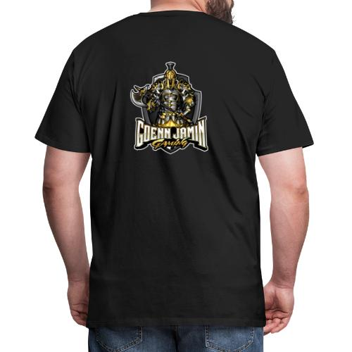 GoennjaminGaming - Logo Back Print Collection - Männer Premium T-Shirt