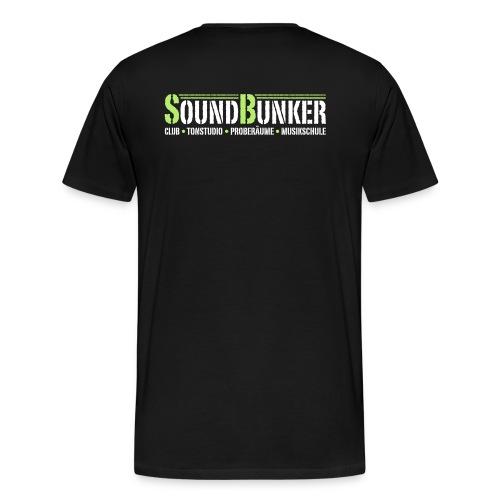 für schwarzen hintergrund groß - Männer Premium T-Shirt
