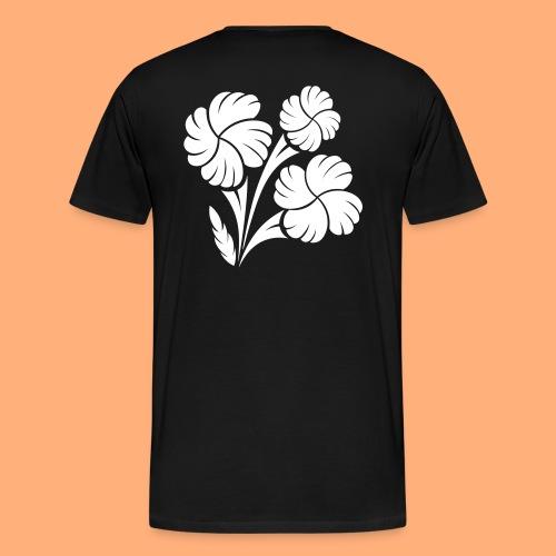 trio fleuri - T-shirt Premium Homme