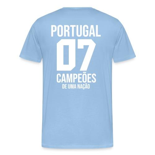 PORTUGAL07 - T-shirt Premium Homme