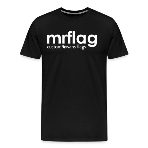 mrflagcustomswansflags - Men's Premium T-Shirt