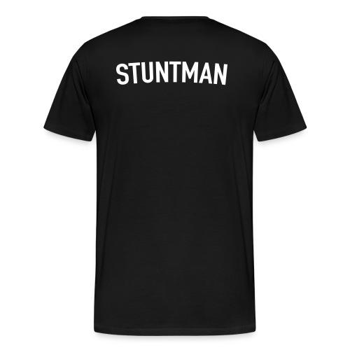 Stuntman Blanco - Camiseta premium hombre