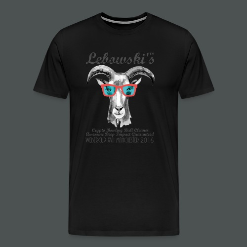 Lebowskis XVII MANCHESTER - Men's Premium T-Shirt