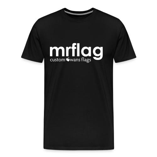 mrflagcustomswansflags - Men's Premium T-Shirt