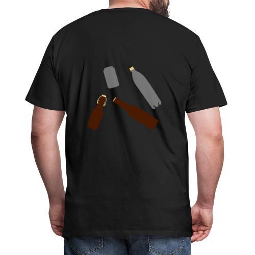 Flaschen und Dose - Männer Premium T-Shirt