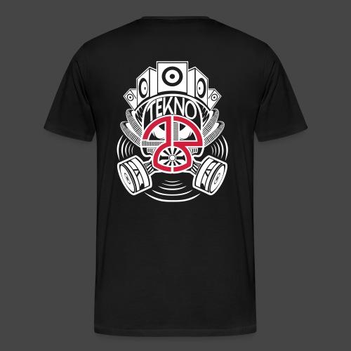 Maschera antigas Tekno 23 - Maglietta Premium da uomo