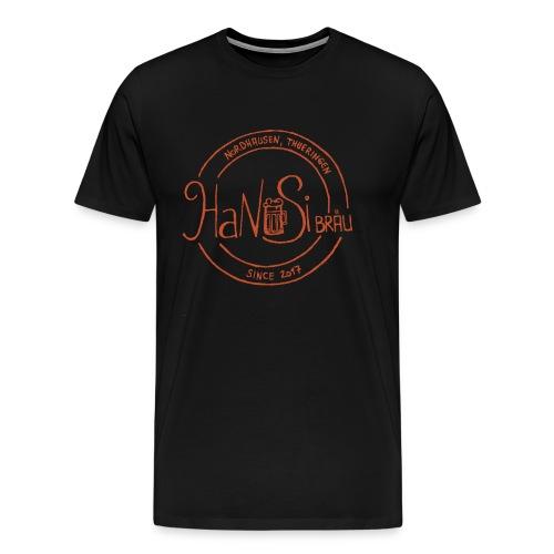 Hanusilogo - Männer Premium T-Shirt