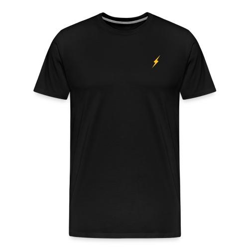 blixt, lightning, - Premium-T-shirt herr