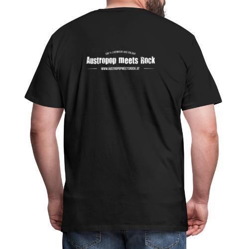 AMR Logo vintage back - Männer Premium T-Shirt