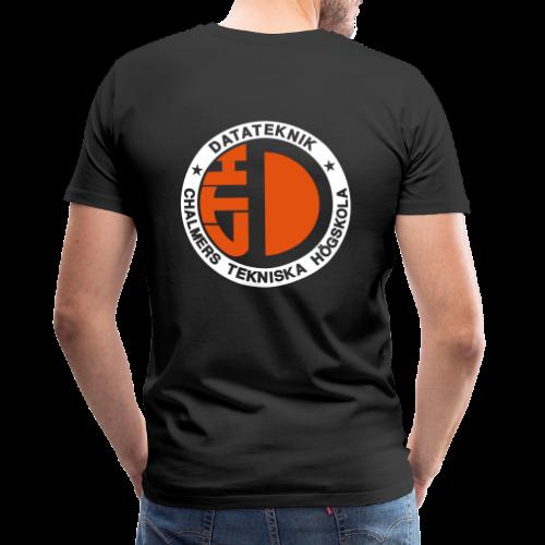 Datalogga för mörka bakgrunder - Premium-T-shirt herr