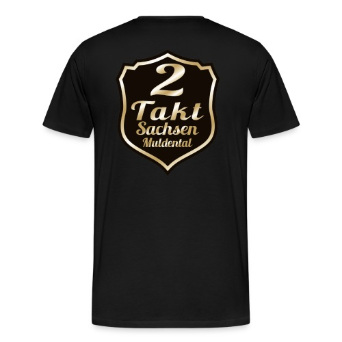 2 Takt Sachsen/ Muldental Merchandising - Männer Premium T-Shirt