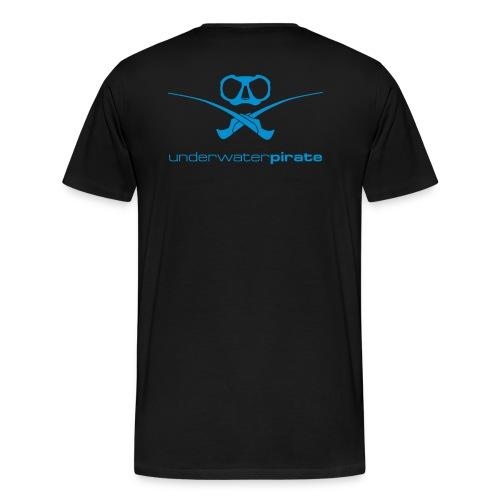 Unterwasser Pirat - Männer Premium T-Shirt