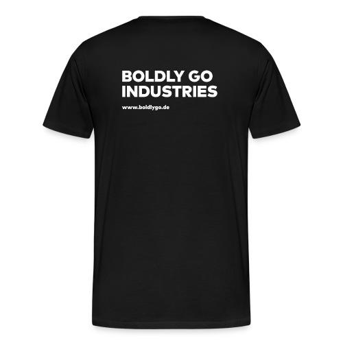 BOLDLY GO INDUSTRIES white - Männer Premium T-Shirt