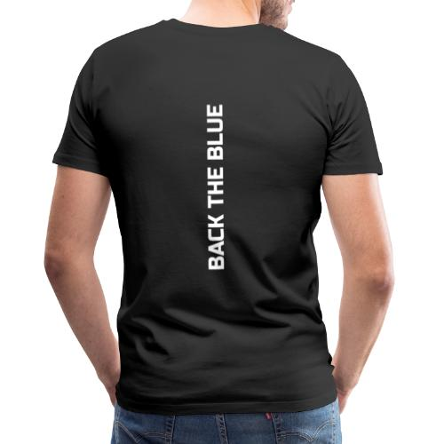 Back the Blue vertical - T-shirt Premium Homme