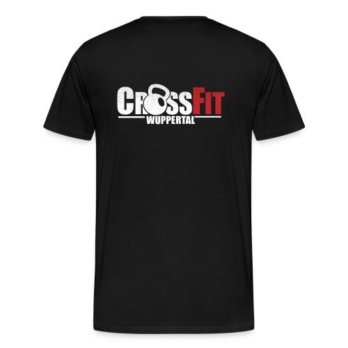 crossfitwuppertalwhitefrei2 - Männer Premium T-Shirt