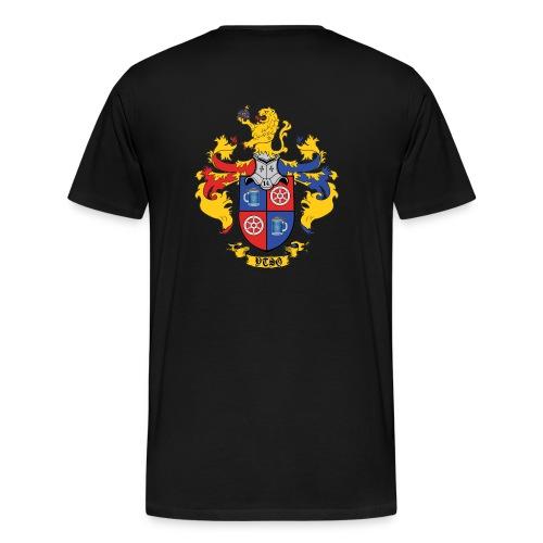 itsg 14 wappen rücken - Männer Premium T-Shirt