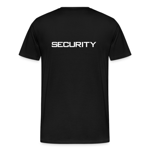 security cdr wit - Mannen Premium T-shirt