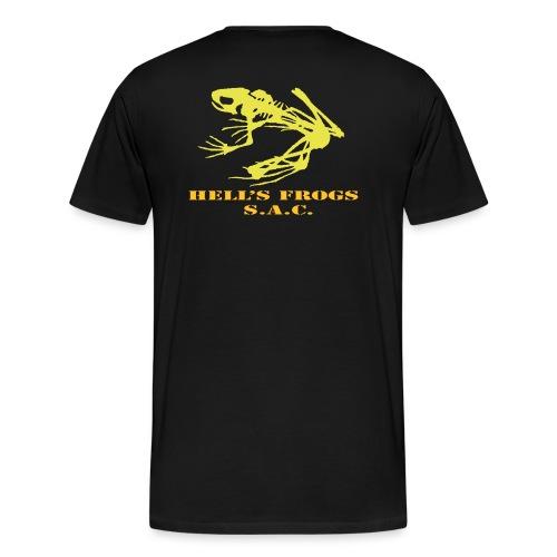 skull frog orig - Maglietta Premium da uomo