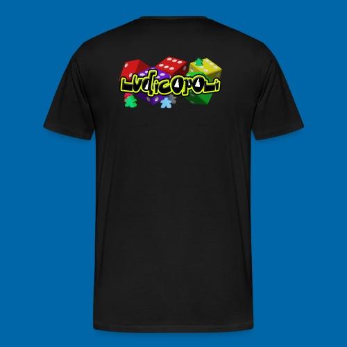 Ludicopoli - Maglietta Premium da uomo