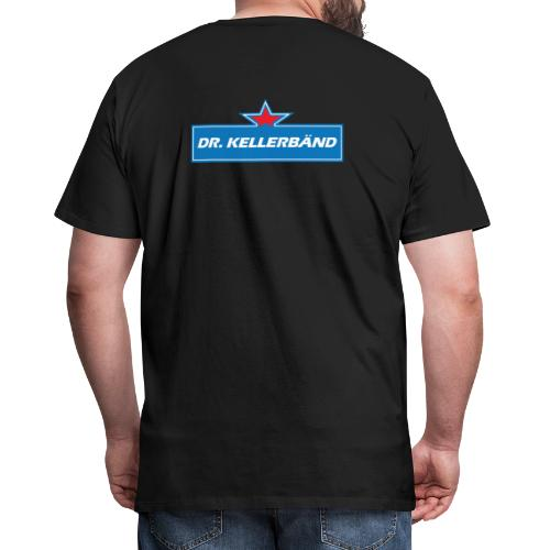 Logo Dr. Kellerbänd - Männer Premium T-Shirt