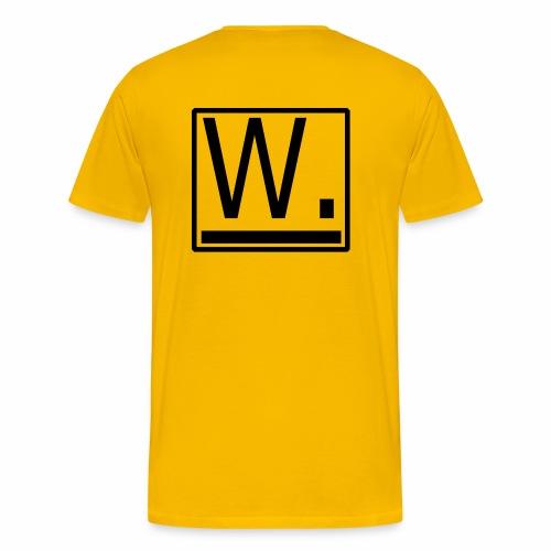 W. - Mannen Premium T-shirt