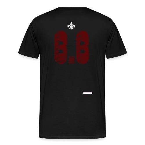 6.6 back - Premium-T-shirt herr