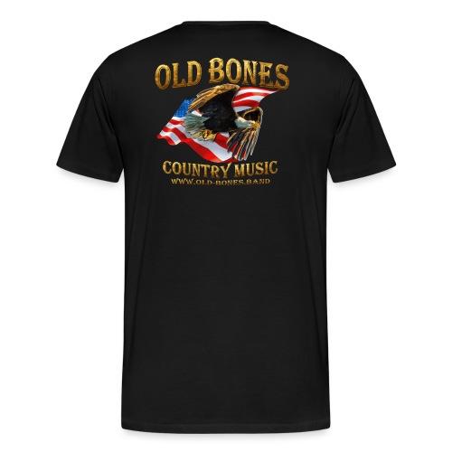 Old Bones LOGO - Männer Premium T-Shirt