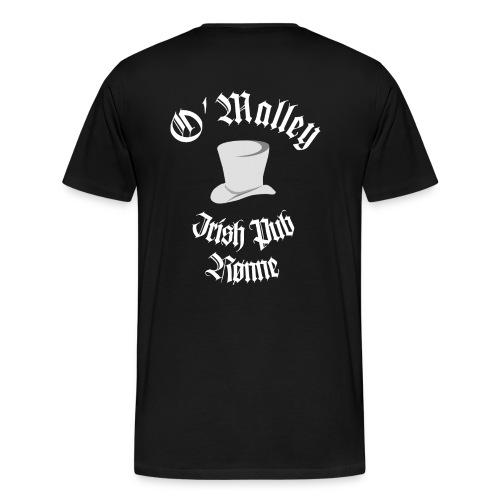 O'Malley Logo bw - Herre premium T-shirt