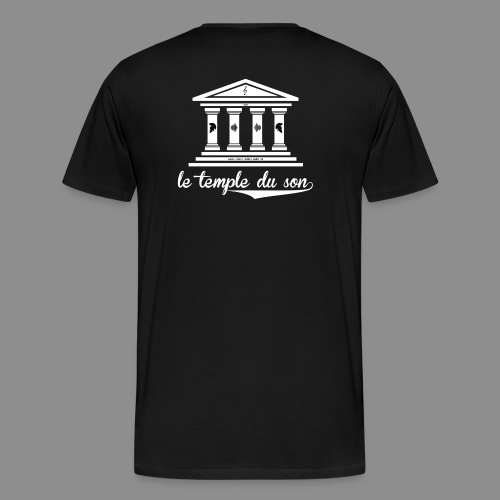The Classic Collection Temple - Men's Premium T-Shirt