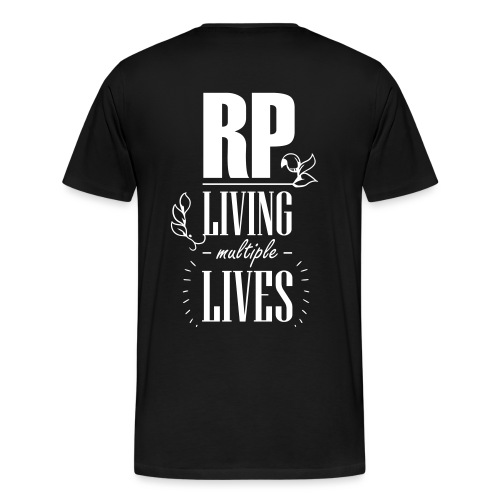 Role play - Living multiple lives - Herre premium T-shirt