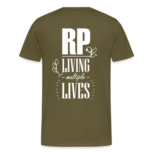 Role play - Living multiple lives - Herre premium T-shirt