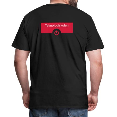 TeknologiskolenLogo - Herre premium T-shirt