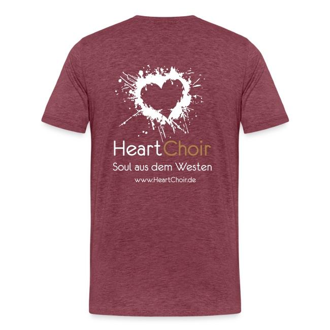 heartchoir logo mit schriftzug und webse