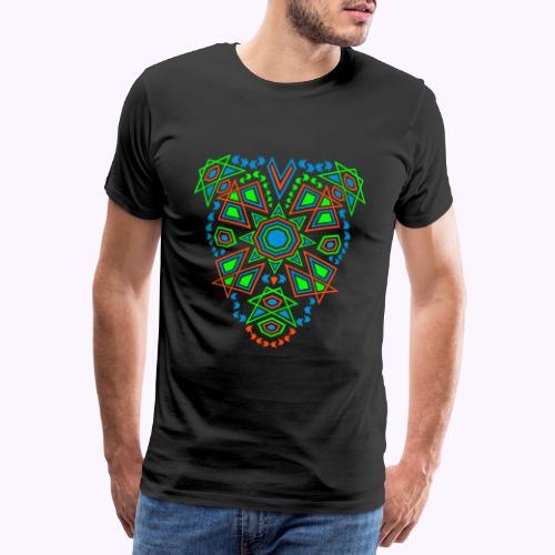 Tribal Sun Front - Camiseta premium hombre