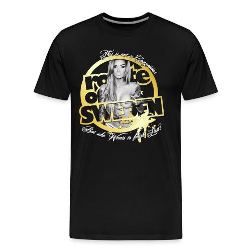 backside 2016 - Premium-T-shirt herr
