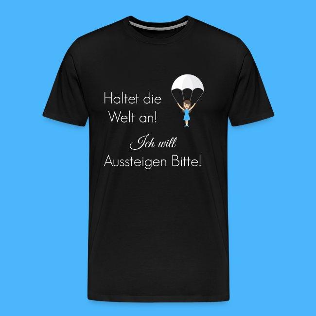 Fallschirm weiß
