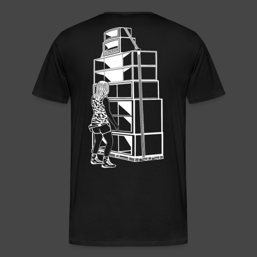 soundsystem tekno 23 fille - T-shirt Premium Homme