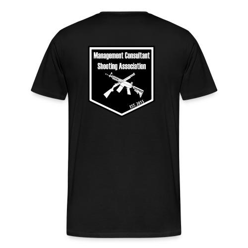 MCSA-logo - Miesten premium t-paita