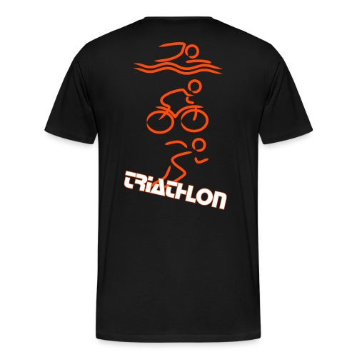 Triathlon - Männer Premium T-Shirt
