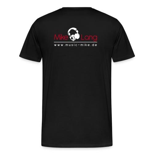 djmike pfade - Männer Premium T-Shirt